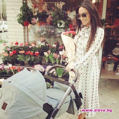 Мария Илиева, която неотдавна стана майка на малкия Александър, вече