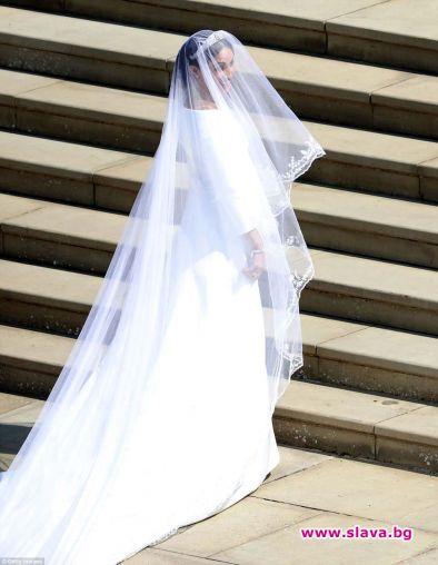 Сватбената рокля на Меган Маркъл за днешната й сватба с