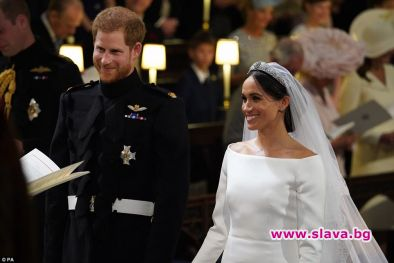 Британският принц Хари и американската актриса Меган Маркъл се ожениха