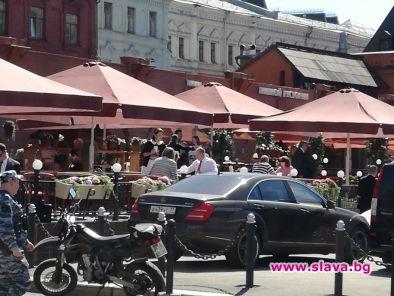 Президентът Румен Радев, който е на посещение в Москва, попи