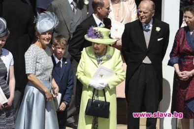 Не му е било лесно на 96-годишния принц Филип по
