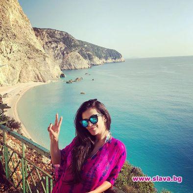 Фолк певицата Прселава се отдаде на заслужена почивка – на