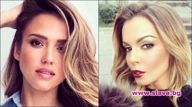 Пайнерката Галена неистово иска да прилича на актрисата Джесика Алба.