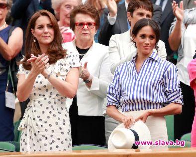 Кейт Мидълтън и Меган Маркъл на Уимбълдън са най-добрата модна