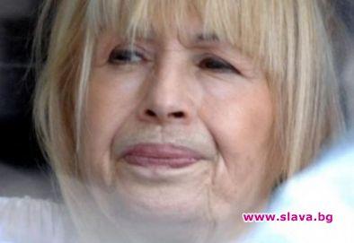 Иконата на българската популярна музика Лили Иванова се е разминала