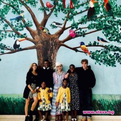 Мадона се завърна в Малави, за да отбележи първата годишнина