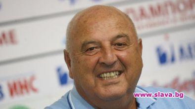 Президентът на Славия Венци Стефанов беше безпощаден в коментара си