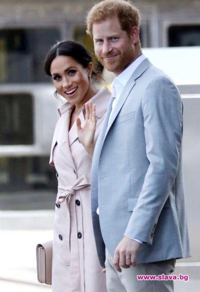 След сватбата през май, херцогът и херцогинята на Съсекс са
