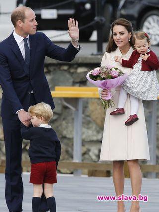 Повече време заедно за Уилям и Кейт. Херцогът и херцогинята