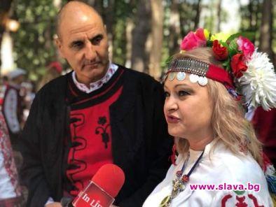 Цветан Цветанов, който не пропуска Международния фестивал на фолклорната носия