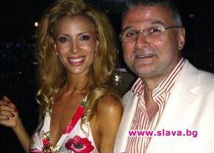 Ирен Онтева и бизнесменът Христо Сираков, от когото тя има