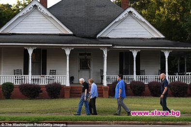 Бившият американски президент Джими Картър, 94 г., живее в къщата