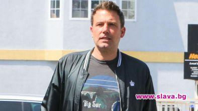 Холивудската звезда Бен Афлек постъпи в клиника за алкохолици. Това