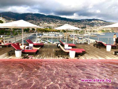 На остров Мадейра ликът на Кристиано Роналдо е навсякъде: на