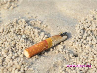 Знаете ли, че фасовете от цигари са най-разпространеният и многоброен