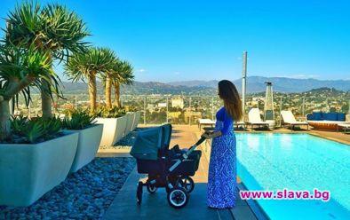 Миската Теди Бургазлиева стана майка на близнаци. Рожбите й са