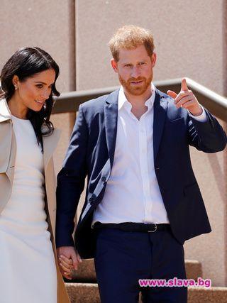 Едва вчера бе обявено официално, че херцозите на Съсекс принц
