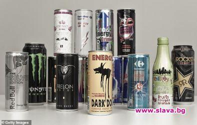 Консумирането на само една енергийна напитка може да увеличи риска
