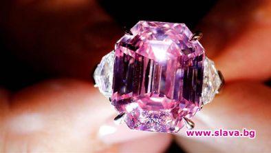 Рядък 19-каратов розов диамант беше продаден за над 50 милиона