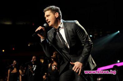 Четирикратният носител на Грами Майкъл Бубле ще пристигне за първи