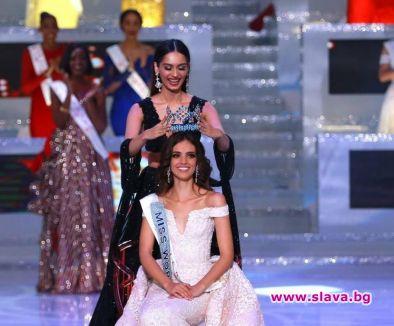 Мексиканката Ванеса Понсе де Леон спечели голямата корона на Мис