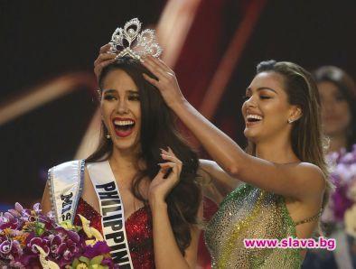24-годишната Катриона Грей от Филипините бе коронована за Мис Вселена