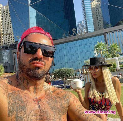 Снимка: Благо и Златка на романтично пътешествие в Дубай