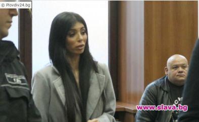 Снимка: Мегз припадна в съдебната зала