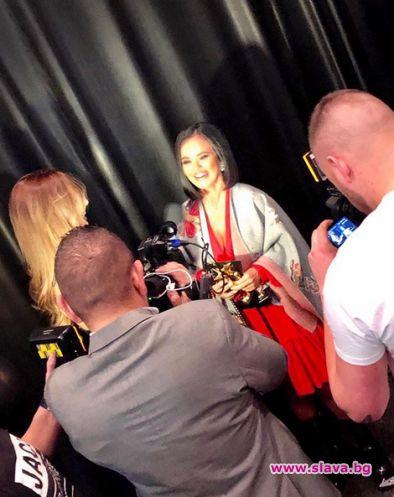 Снимка: Мария с две награди от Lifestyle Awards