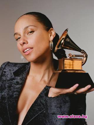 Снимка: Алиша Кийс ще води наградите Грами