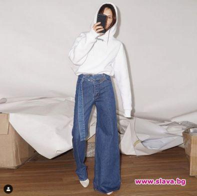 Асиметрични дънки светкавично се превърнаха в нов моден хит. Те