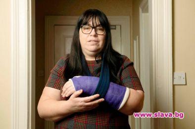 Жената, която счупи китката си в автомобилната катастрофа с принц