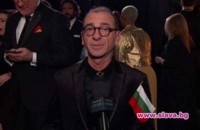 Актьорът Димитър Маринов, който преди дни развя българския флаг на