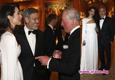 Джордж и Амал Клуни бяха почетни гости на събитие, организирано