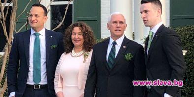 Ирландският премиер Лео Варадкар взе своя партньор Матю Барет с