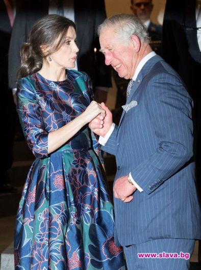 Испанската кралица Летисия и принц Чарлз отбелязаха тържествено откриването на
