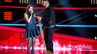 Една от най-емоционалните участнички в Гласът на България по bTV