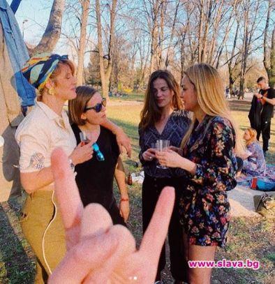 Актрисата Рая Пеева отбеляза рождения си ден през уикенда.Красавицата от