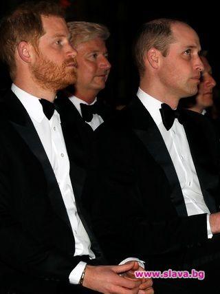 Снимка: Принц Уилям не искал Хари да се жени за Меган