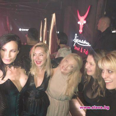 Цеци Красимирова отсвири БГ хайлайфа за моминското си парти.Няма известни