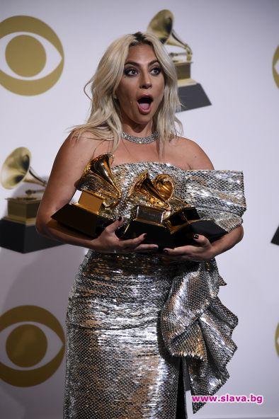 Най-успешната година на Лейди Гага, когато певицата спечели три награди