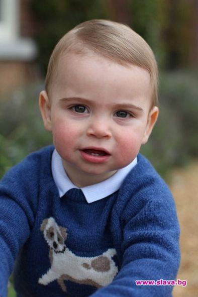 Снимка: Принц Луи с фотосесия за рождения ден