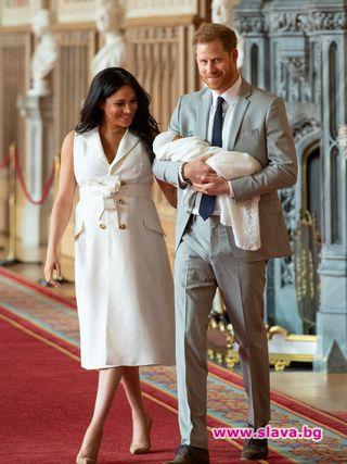 Най-новият член на британското кралско семейство прикова вниманието на хората