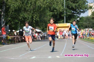 Рекорден брой деца - над 500, спортуваха и се забавляваха