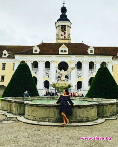 Бременната оперна прима Соня Йончева прекара уикенда в Австрия. Вчера