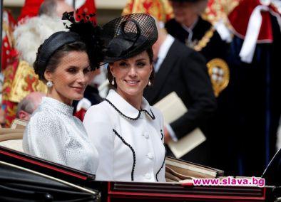 Херцогинята на Кембридж поведе ослепителната модна надпревара сред кралските особи