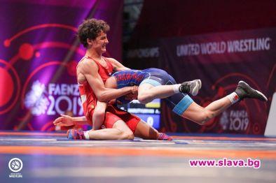 Едмонд Назарян триумфира с европейската титла по борба за втора