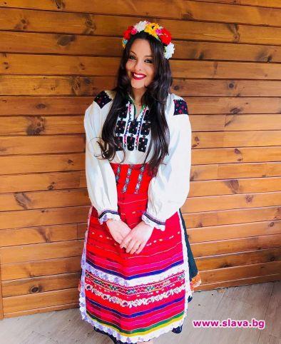 22-годишната дъщеря на поп фолк примата Глория - Симона Загорова,