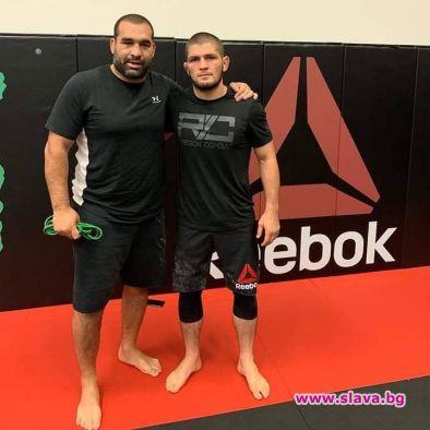 Снимка: Багата тренира с Хабиб в Сан Хосе