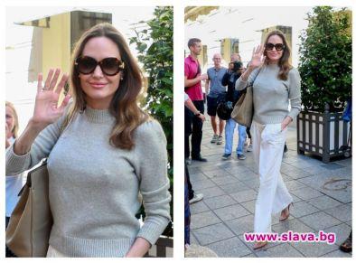 Повечето работа очевидно се отразява много положително върху Анджелина Джоли.